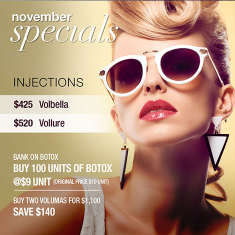 Injectables & Fillers - January Specials